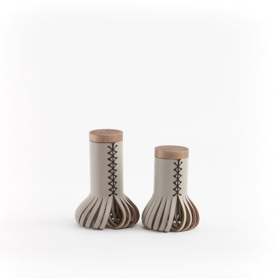 Vacavaliente Christian Mohaded Chef Shakers Grey20