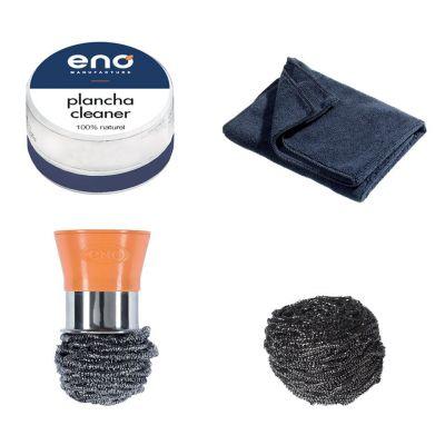 Eno - Reinigingsset (schuursponsje, Doek, Clean)