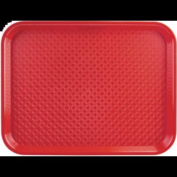 Kristallon dienblad polyprop 35x45cm rood