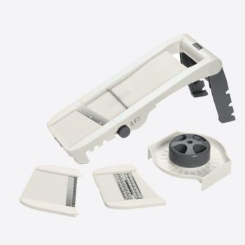 Lurch Vario-slicer grey/white 34x11x15.5cm