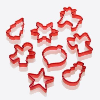 Lurch set of 8 cookie cutters