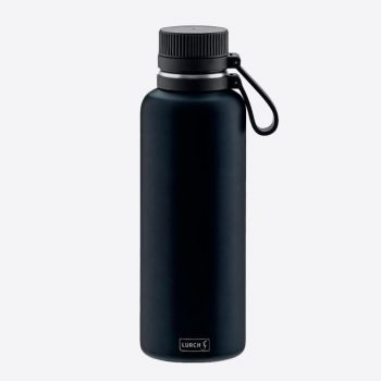 Lurch Outdoor double-walled stainless steel vacuum flask dark blue 1L