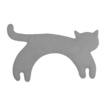 Warming pillow Minina cat L - grey