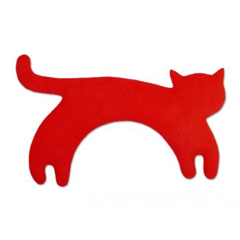 Warming pillow Minina cat L - red