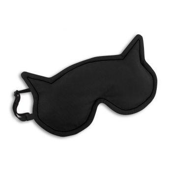 Eye mask Luna the cat - black