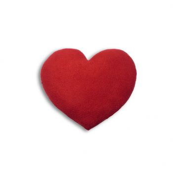 Warming pillow Heart Large - red