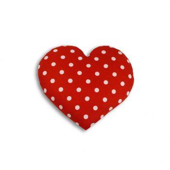 Warming pillow Heart Large - polkadot