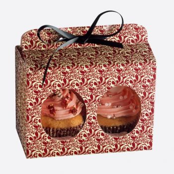 Kaiser gift box for 2 muffins flora