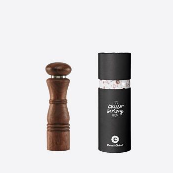 Crushgrind Paris walnut spice grinder brown 22cm
