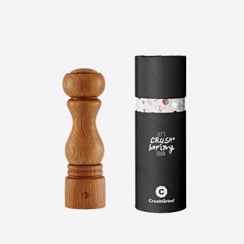 Crushgrind Torino oak spice grinder brown 20cm