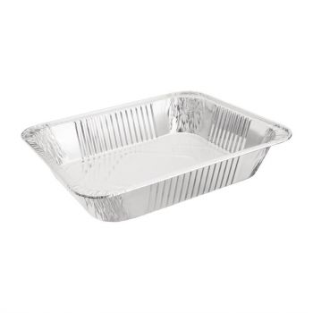 Fiesta rechthoekige aluminium serveerschalen GN 1/2