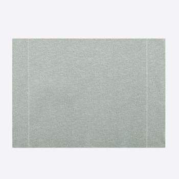 Day Drap non-slip placemat from recycled cotton light grey 45x32cm