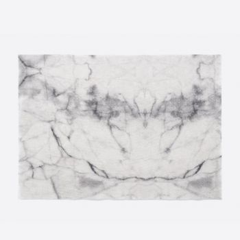 Day Drap non-slip placemat from recycled cotton Marble 45x32cm