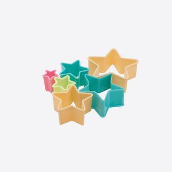 Dotz set of 6 cookie cutters star