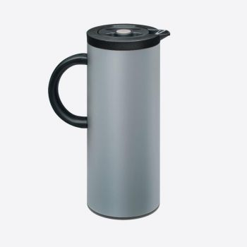 Dotz vacuum flask with glass interior body grey 1L