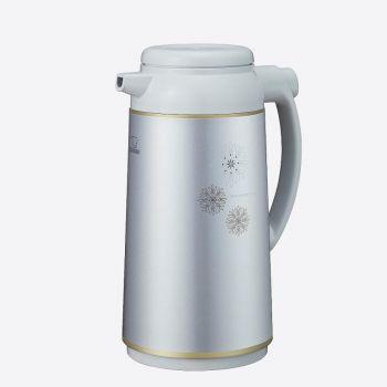 Zojirushi handy pot with glass interior body metalic grey 1.9L