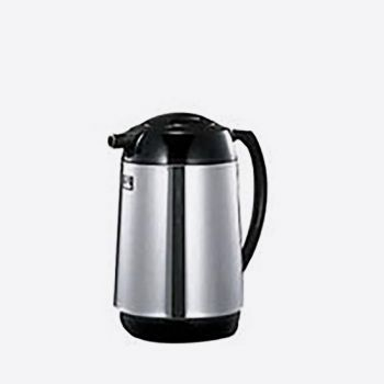 Zojirushi handy pot in stainless steel with glass interior body 1L