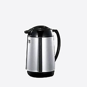 Zojirushi handy pot in stainless steel with glass interior body 1.6L