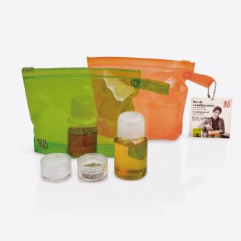 Iris Barcelona 2-piece Dressing & Seasoning set orange and green