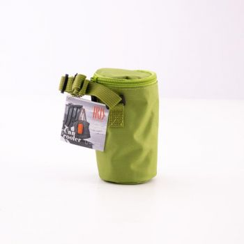 Iris Barcelona Can Cooler with cooling gel green