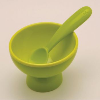 Joie set of 4 sundae bowls with spoon 10.2x11.4x21cm