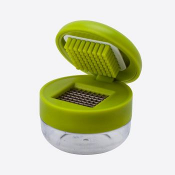 Joie garlic cutter with container green 7x9x13cm