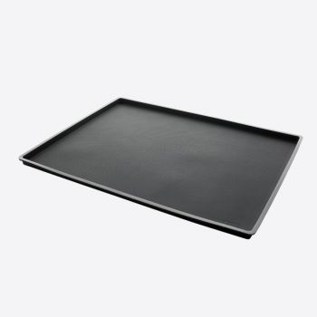 Lékué non spill baking mat in silicone black 40x30x1.2cm