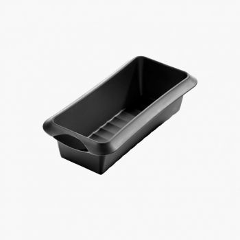 Lékué rectangular cake mold in silicone black 24x10x6.8cm