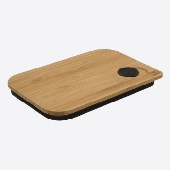 Nubento bamboo lid for lunch box 17.5x11.8x1.7cm