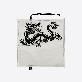 Nubento napkin in organic cotton Dragon 30x30cm (per 6pcs)