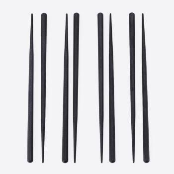 Point-Virgule chopsticks 4 sets of 2 sticks