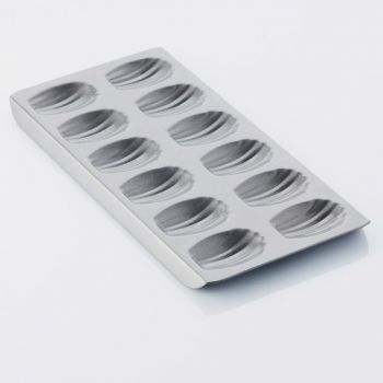 Point-Virgule baking mould with non-stick coating for 12 madeleines 40x21x2cm
