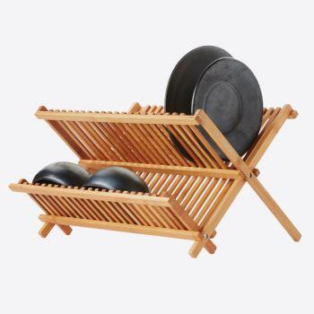 Point-Virgule bamboo dish rack 42x33x26cm