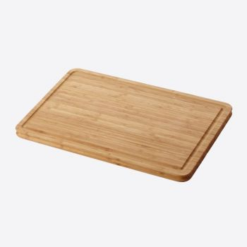 Point-Virgule bamboo cutting board by Mathias De Ferm 37.5x25x1.6cm