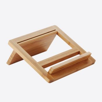 Point-Virgule bamboo tablet/cookery book stand 24x26.5x2cm