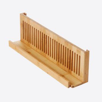 Point-Virgule bamboo herb organizer by Mathias De Ferm 40x8.5x12.2cm
