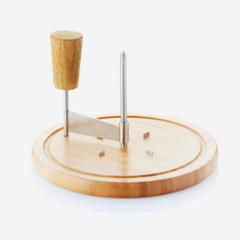 Point-Virgule bamboo cheese slicer