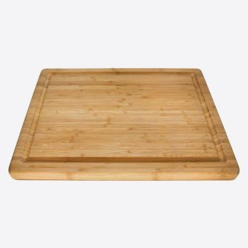 Point-Virgule bamboo meatboard with groove 40x30x3cm (per 3pcs)