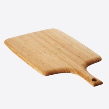 Point-Virgule bamboo cutting board with handle 58x28x1.9cm