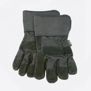 Point-Virgule set of 2 barbecue gloves black 32x15cm