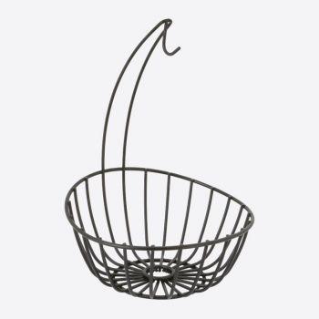 Point-Virgule Wire banana holder and fruit basket 23.5x32.5cm