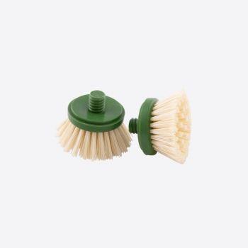 Point-Virgule set of 2 brush heads for bamboo cleaning brush