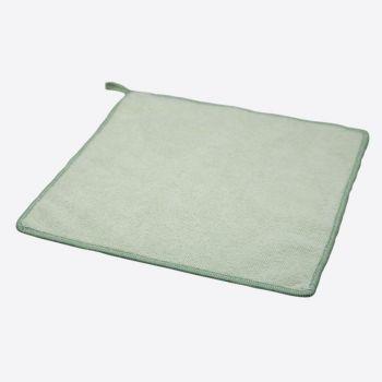 Point-Virgule bamboo fiber cloth green 25x25cm (per 6pcs)