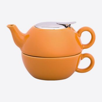 Point-Virgule tea for one with infuser orange 850ml