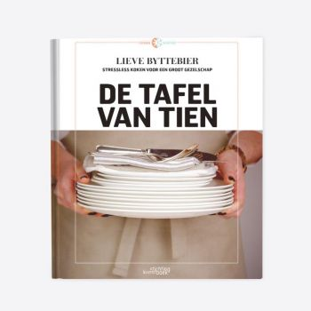 Point-Virgule cookery book 'De tafel van 10' Dutch
