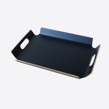Point-Virgule frame tray with handles black 44.5x33.5x4.5cm