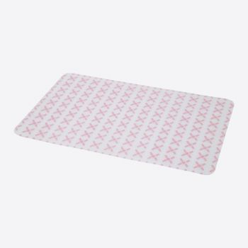Point-Virgule silicone placemat pink 45x30cm