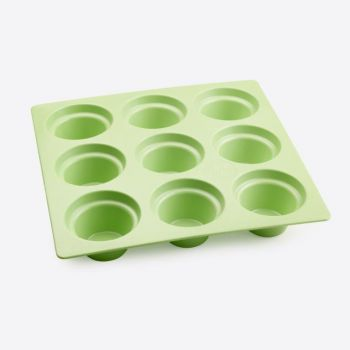 Point-Virgule muffin pan for 9 pieces