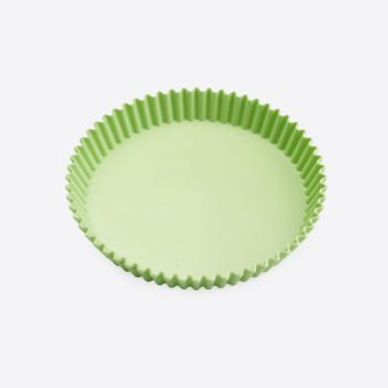 Point-Virgule flan pan with rolled edge for 10 persons 28x25.5cm (per 6pcs)
