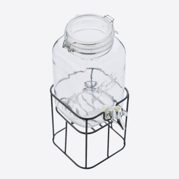 Point-Virgule drinks dispenser with metal holder 3.6L (per 4pcs)